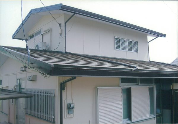 藤沢市で外壁塗装と光触媒塗装