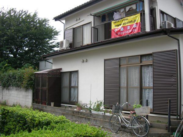 大和市で外壁屋根塗装