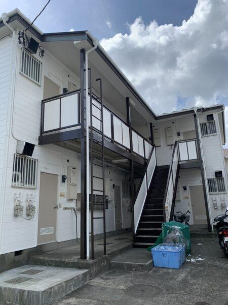 藤沢市でアパート外壁塗装
